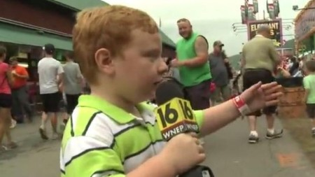 Apparently Kid Reporter